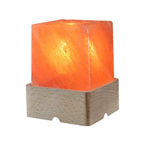 Luminaires & Eclairage/Luminaires intérieur/EC Sel de Cristal Light Square Night Light Himalayan Cristal de sel Light Allée Light Corridor Light Famille Night Light Rock Light, 3 kg, boîte-Cadeau