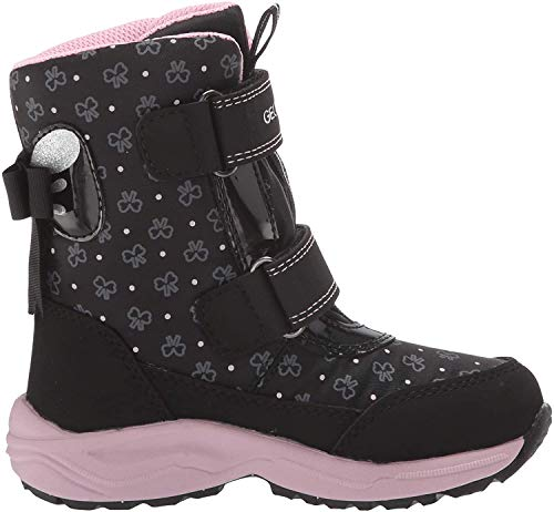 Geox J KURAY Girl B ABX A, Botas de Nieve para Niñas, Negro (Black C9999), 36 EU