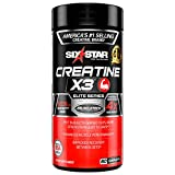 Creatine Pills | Six Star Post Workout X3 Creatine Capsules | Creatine Monohydrate Blend | Muscle Recovery & Muscle Builder for Men & Women | Creatine Supplements | Creatina Monohidratada, 20 Servings