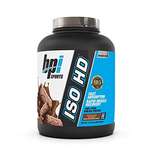 Bpi Sports Iso-HD Supplement, 5 lbs, Chocolate Brownie
