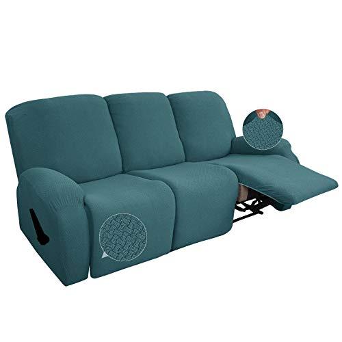 SLOUD Funda para sillón reclinable de 3 plazas, Funda para sofá reclinable...