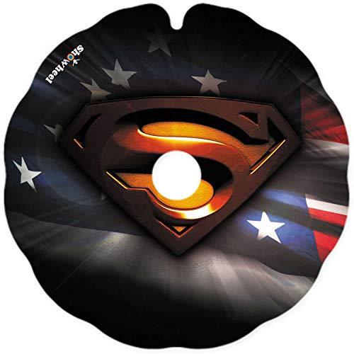 Rollstuhl Speichenschutz (1 Paar) - leicht anzubringen - Geeignet für Greifreifen von 53,51 bis 54,50 cm Außendurchmesser und Flache Befestigungen - 'Superman étoile'