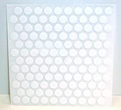 FastCap Adhesive Cover Caps PVC White 3/8
