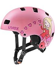uvex kid 3 cc, Fietshelm Unisex-Jeugd, pink mat, 51-55 cm