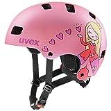 uvex Kid 3 CC Casco de Bicicleta, Juventud Unisex, Pink Mat, 51-55 cm