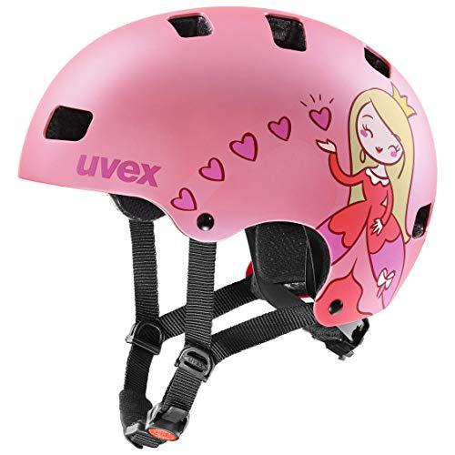 Uvex Unisex Jugend Kid 3 cc Fahrradhelm, pink mat, 55-58 cm