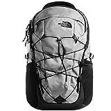 The North Face Borealis Men's Backpack, Zinc Grey Dark Heather/TNF Black, One Size