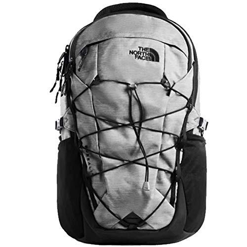 The North Face Borealis Men's Backpack, Zinc Grey Dark Heather/TNF Black
