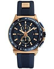 سيلفاتوري فيريجامو ساعة انالوج بعقارب للرجال، مطاطي - FFJ020017