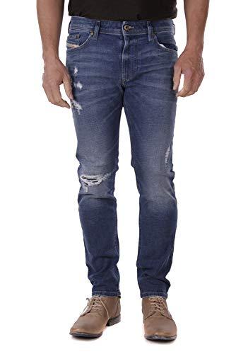 Diesel Thavar-XP R8F60 Herren Jeans Hose Slim Skinny (34W / 30L, Blau)