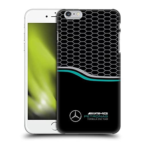 Head Case Designs Licenza Ufficiale Mercedes-AMG Petronas F1 Team Griglia Logo Cover Dura per Parte Posteriore Compatibile con Apple iPhone 6 Plus/iPhone 6s Plus