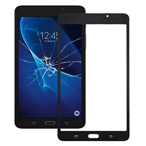 PANPAN Compatible For Samsung Galaxy Tab A 7.0 (2016) / T280 Pantalla Frontal Lente de Cristal Exterior Teléfono móvil de Repuesto pa (Color : Black)