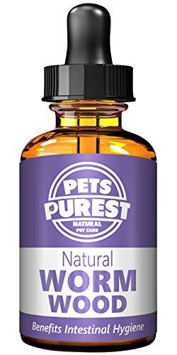 Pets Purest 100% natuurlijke anti-parasitaire worm - Voor Honden, katten, pluimvee, vogels, fretten, konijnen en huisdieren - Effectief tegen alle darmparasieten en -wormen, Rondworm, Haakworm, Zweepworm, Lintworm, Hartworm, longworm en leverbot - 1-2 jaar levering - Verbetert de darmgezondheid - Geen vervelende verborgen Chemicaliën