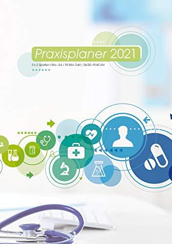 Exklusiver Praxisplaner 2021 Praxis, Planer, Hardcover, A4, 316 Seiten