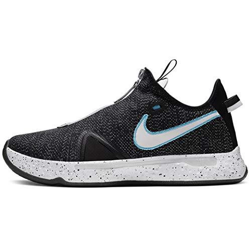 Nike Pg 4 Cd5079-004 - Tenis de baloncesto para hombre, negro (Negro, blanco, gris (Black/White/Wolf Grey)), 48.5 EU