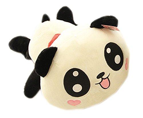 YunNasi 25cm Panda Peluche Coussin Cadeau Noël Anniversaire