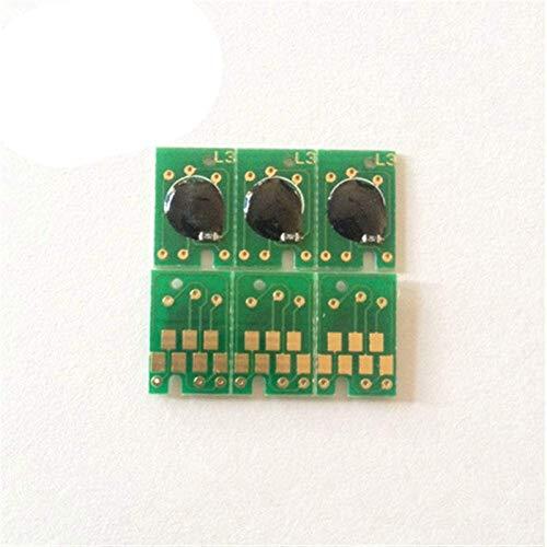 LUOERPI Chip de reinicio de Unidad de Imagen de 16 Uds Apto para Epson 4450 4400 4800 4880 7800 9800 7880 9880 Cartucho de tóner de Impresora Reset Count Chips