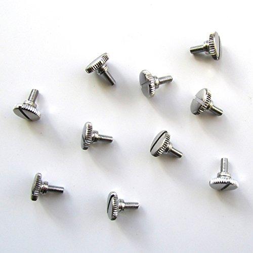 KUNPENG - 10 piezas # TS-SN Pies Tornillo de mariposa para la máquina de coser de puntadas prensatelas Prensatelas