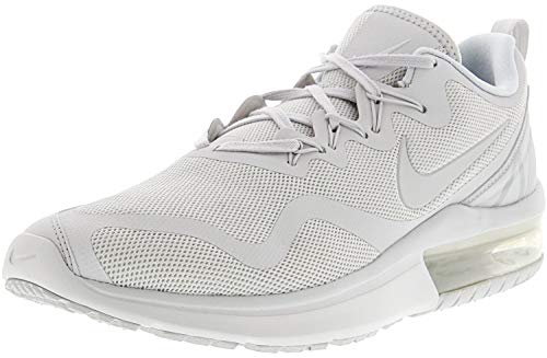 Nike Men's Sneakers Air Max Fury Running Shoes (11 D(M) US, White/Pure Platinum)