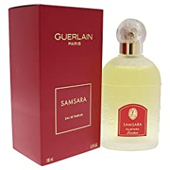 Design House: Guerlain Fragrance Notes: amber, sandalwood and jasmine, blended with other oriental florals and vanilla. Recommended Use: evening