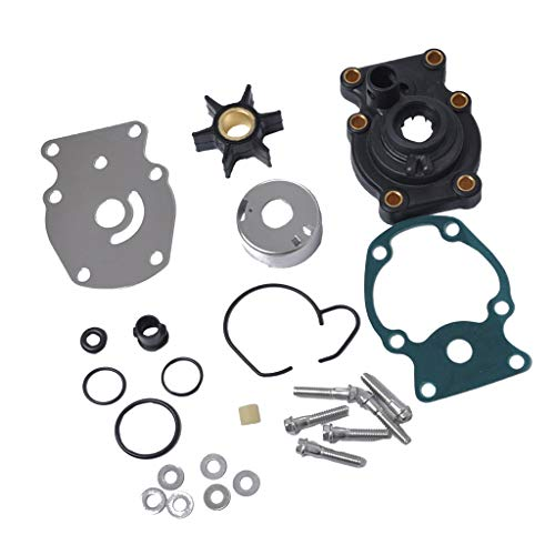 HaoYueDa Wasserpumpe Impeller Reparatursatz 393630 Ersatz for Evinrude Johnson 20 25 30 35 PS Außenborder