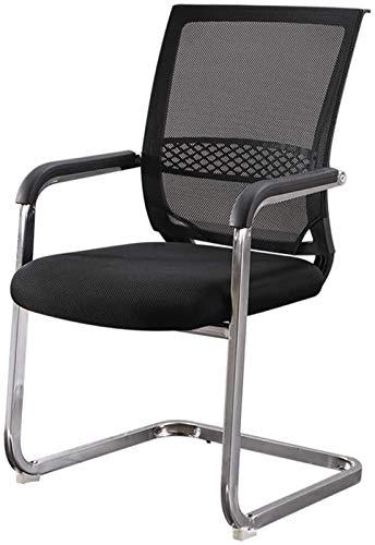 CSD Chair Home Office Desk Presidenza Presidenza Conferenza Mesh Traspirante Computer Chair Bow Basamento del Cuscinetto di Peso 120kg Nero