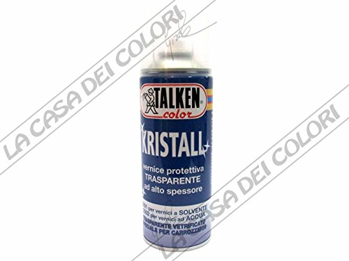 TALKEN - SPRAY - KRISTALL - 400 ml - PROTETTIVO TRASPARENTE PER VERNICI SOLVENTE