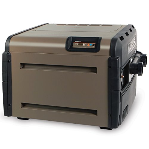 Hayward H400FDN Universal H-Series 400,000 BTU Pool and Spa Heater, Natural Gas, Low Nox