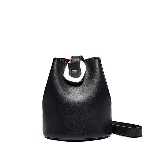 Warm Thuis De Nieuwe Pompen Met Zachte Lederen Handtassen Mode Wild Zijemmer Bag Schouder Messenger Bag 18CM * 13CM * 22CM Leuk