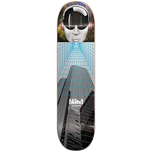 Blind Grau Fa18 Space Case Tj Rogers - 8.3 Inch Skateboard-Deck (One Size, Grau)