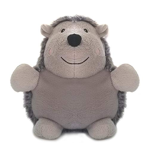 Microwavable Stuffed Animal Heating Pad Weighted Cute Heatable Small Plushie Hot Bag for Bed Hot and Cold Therapy for Cramps, Stress Relief Gifts Hedgehog