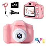 Kids Digital Camera - 8MP Children's Camera with 2inch Screen for 3-12 Years