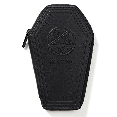 Killstar Damen Gothic Geldbörse Sarg - Casey Coffin Portemonnaie Pentagramm