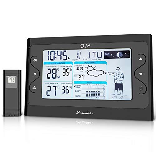 Station météo avec écran couleur sans fil 1