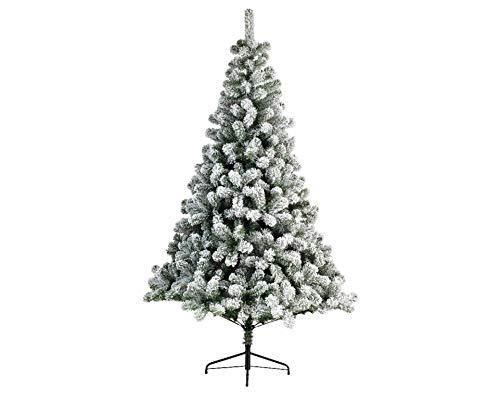 Kaemingk Snowy Imperial Hinged Pine Tree 240cm - 9680953