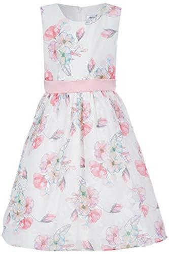 Happy Girls Vestido para niña con estampado floral en color crudo - 504173 Rosa 128