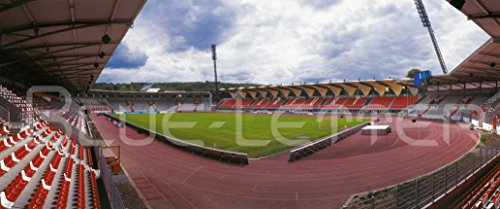 Erfurt Stadion 2016 leer Panorama - hochwertiger FineArtPrint (240 cm x 100 cm)