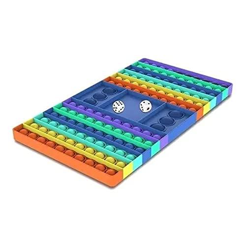 Pop It Fidget Toys Brinquedo Anti-stress Tabuleiro Grande