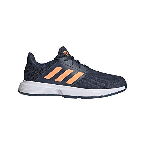 adidas GameCourt M, Zapatillas de Tenis Hombre, AZMATR/NARCHI/FTWBLA, 48 2/3 EU