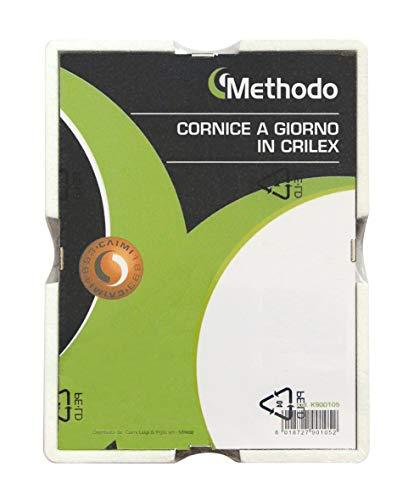 Methodo K900105 Cornice a Giorno in Crilex