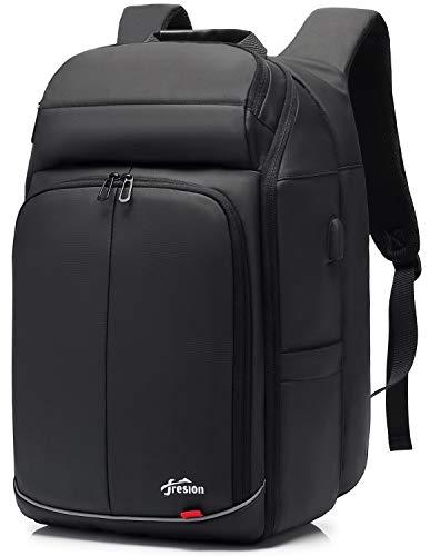 Anti-Diebstahl 15,6 Zoll Laptop Rucksack Herren - 28L Business Notebook Rucksack, Reiserucksack Handgepäck Flugzeug für Arbeit Reisen,Schulrucksack Daypack mit USB Ladeanschluss