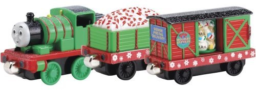 Take Along Thomas & Friends - Percy and the Holiday Cars 3-Pack by Learning Curve
