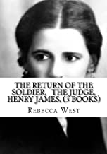 The Return of the Soldier, The Judge, Henry James, (3 Books)