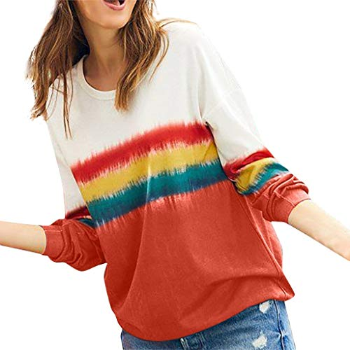 Feytuo Damen T-Shirt Kleid,Bluse Tshirt Maxi Poloshirt Crop Top Nachthemd Sexy Oberteile Blusen elegant Tunika Vero Moda Marco Polo Street Herbst