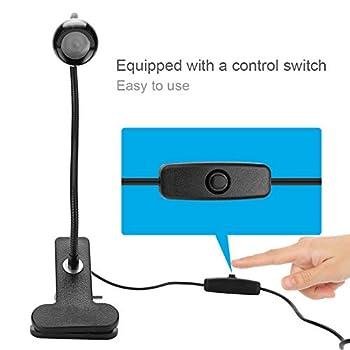 Kafuty 3W UV Light pour réparation de téléphone Portable USB Powerd Colle ultraviolette LED Violet lumière avec Clip et commutateur pour la réparation de téléphone