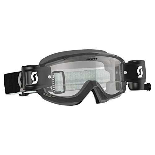 Scott Split OTG (voor brildragers) Crossbril Black WFS Roll-Off