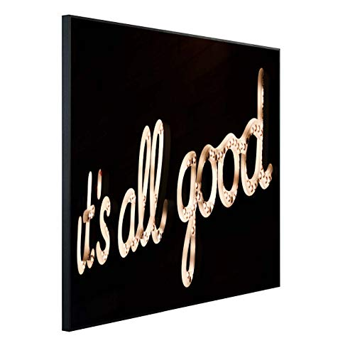 Ecowelle Infrarotheizung mit Bild | 350 Watt | 60x60 cm | Infrarot Heizung| | Made in Germany| (1) j 195 It's All Good