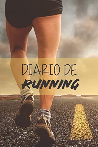Diario de Running: Cuaderno de entrenamiento | Objetivos, distancia, tiempo, ruta, frecuencia cardíaca, etc... | Formato 16 cm x 23 cm , de 110 ... profesionales como para principiantes