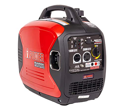 A-iPower SUA2000iV Super Quiet 2000-Watt Portable Inverter Generator Review