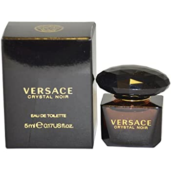 Versace Crystal Noir for Women Eau de Toilette Splash, 5ml